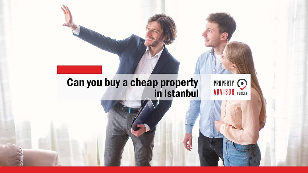Can you buy a cheap property in Istanbul with high specifications?