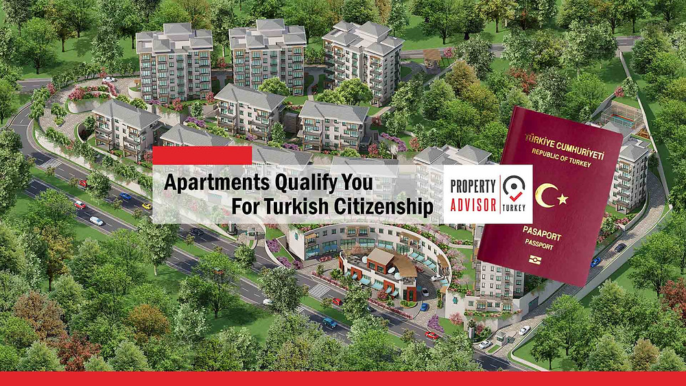 Apartments qualify you for Turkish citizenship