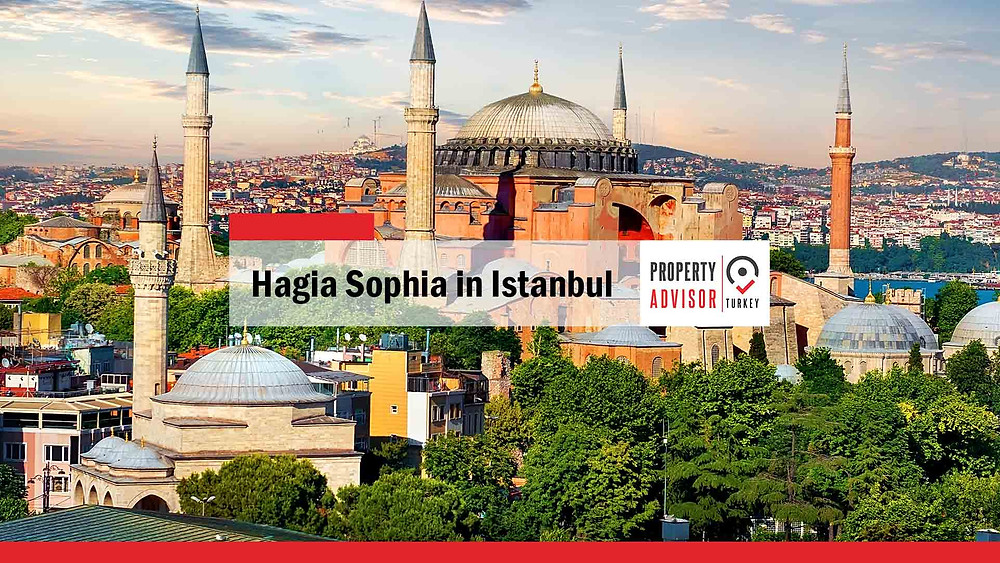 Hagia Sophia in Istanbul... a unique mix of civilizations and religions