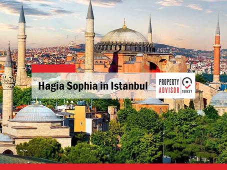 Hagia Sophia in Istanbul... a unique mix of civilizations and religions