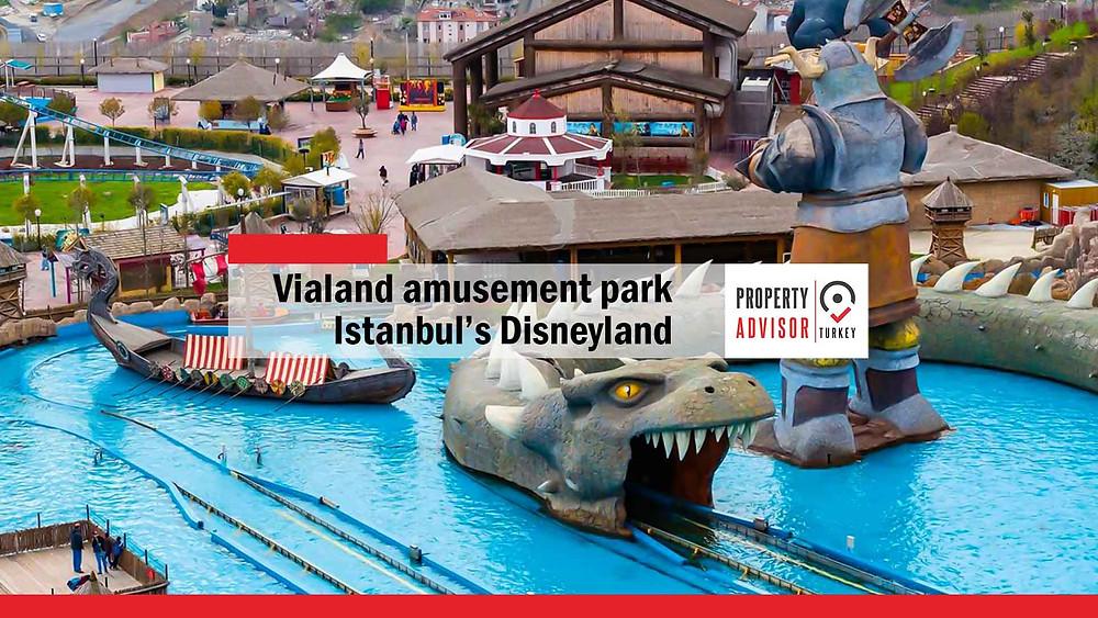Vialand amusement park...Istanbul's Disneyland.