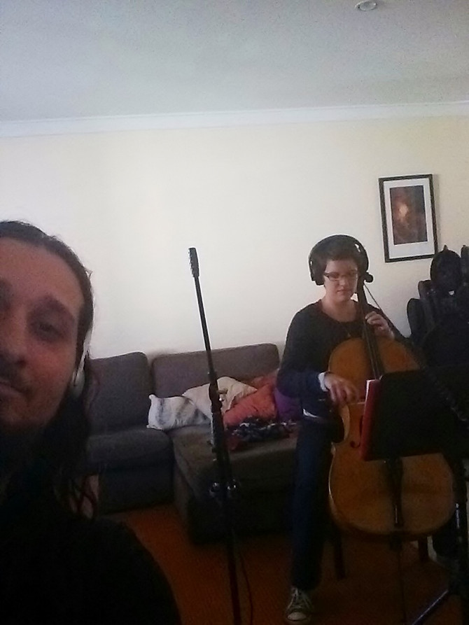 Cello, Vocals and Drums - Sound Production