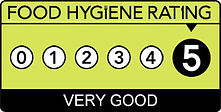 Food Hygiene Rating 5 Stars