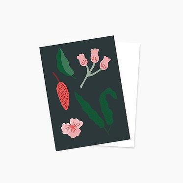 Plantes automnales - grise