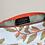 Thumbnail: Trousse branchage kaki-orange