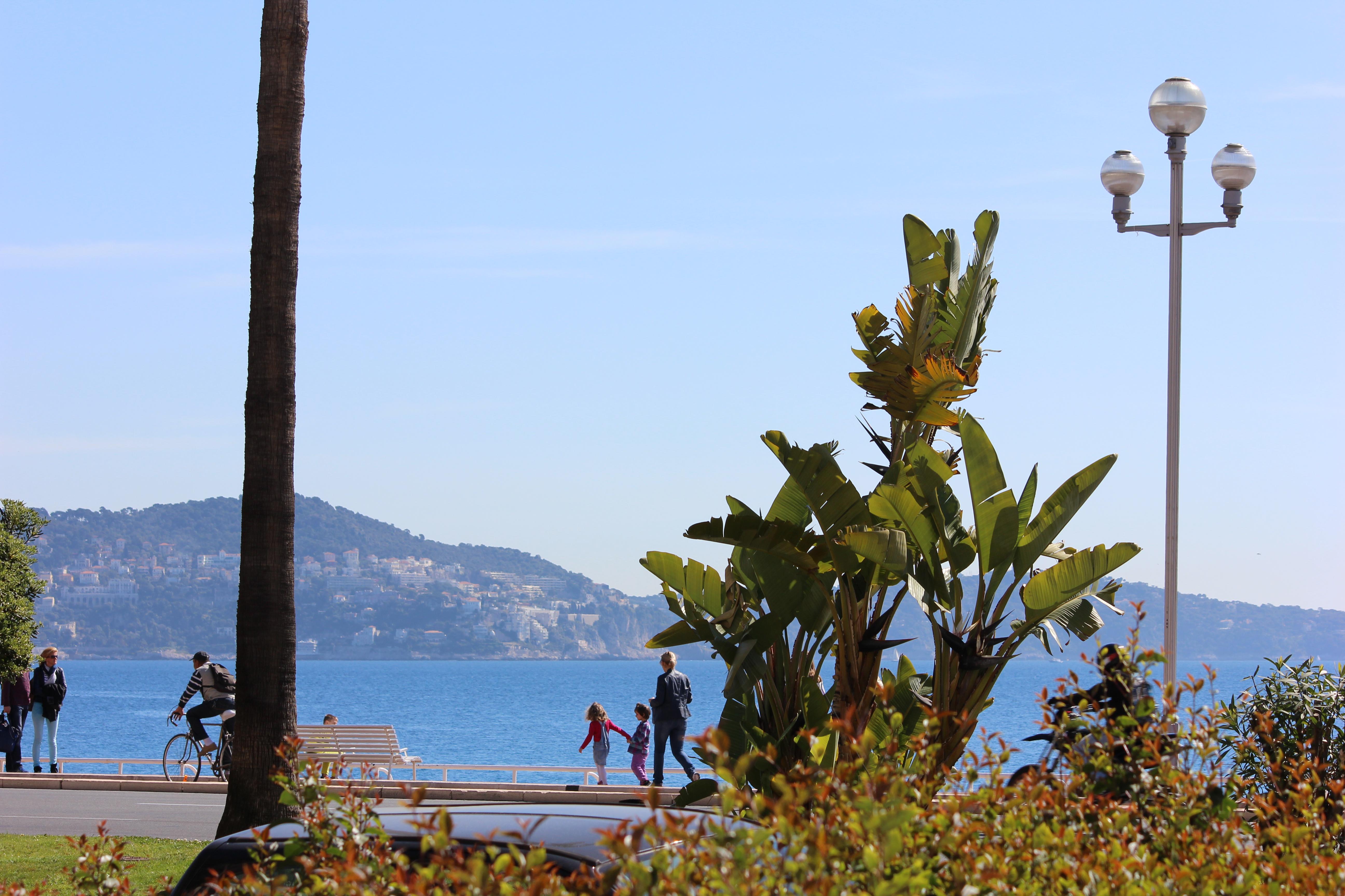 La vue mer, depuis le restaurant ...