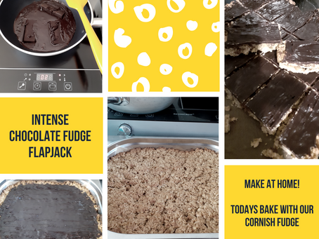 Melting Fudge for Flapjacks