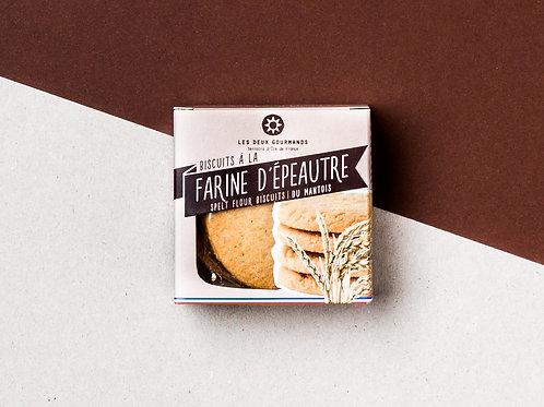 スペルト小麦のビスケット - Les Deux Gourmands