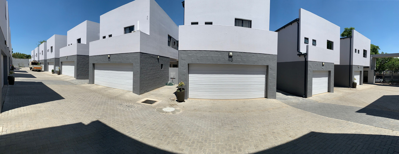 Residential Complex Painting Project - Bryanston (Nov 2018)