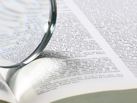 ¿Qué es un glosario terminológico?