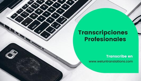 Transcribe en Welun Translations