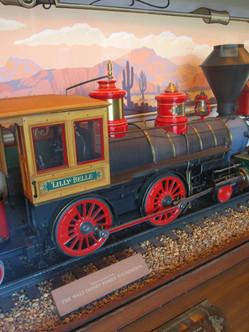 """A Model of Walt's """"Lilly Belle"""""""