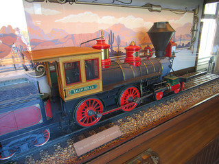 "A Model of Walt's ""Lilly Belle"""