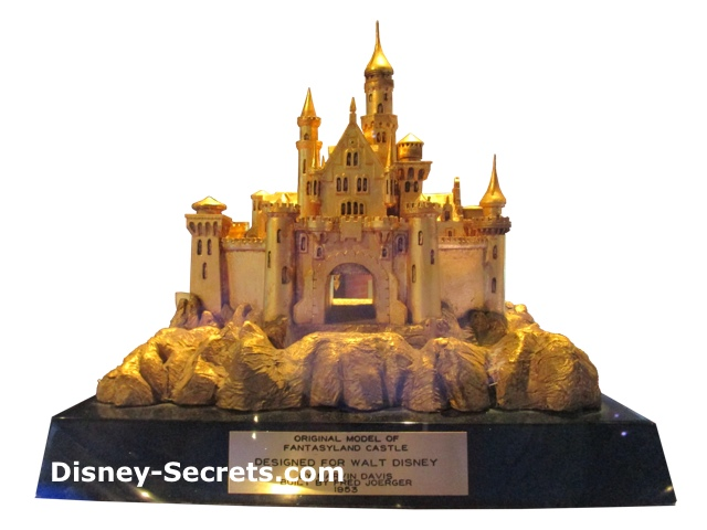 Sleeping Beauty Castle Model - 1953