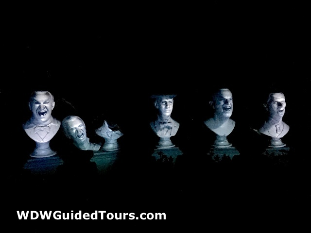 Haunted Mansion Singing Busts