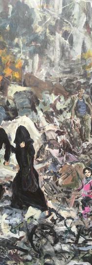 Left Side: Refugee Crisis