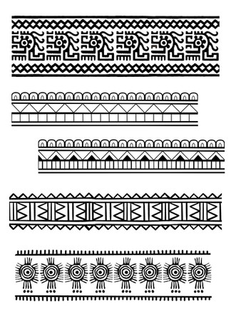 Ancient Mexican Patternwork