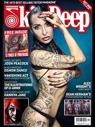 Skin Deep tatoo magazine Hannya Jayne Exeter Tattoo studio
