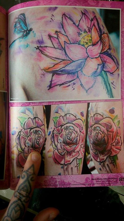 Skin Deep Tattoo magazine, Hannya Jayne