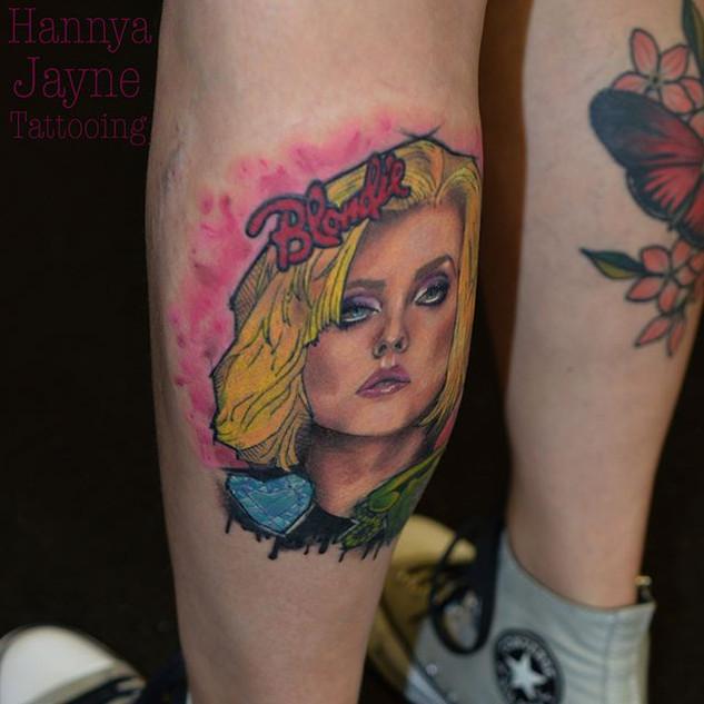 Colour portrait Exeter tattoo artist near me
