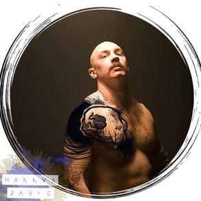 Sketchy avant garde tattoo idea Hannya J