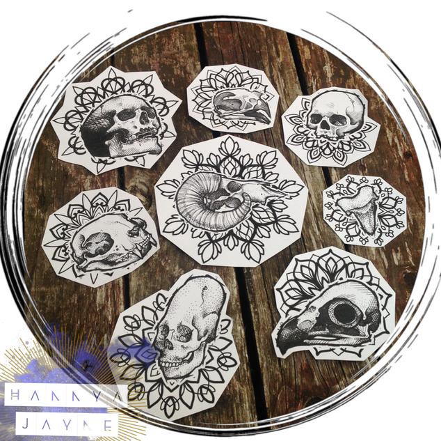 Skull Mandala Tattoo Hannya Jayne.PNG