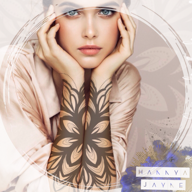 illustrative mandala Tattoo Hannya Jayne