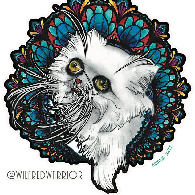 Wilfred-Warrior-Art-Nouveau-Hannya-Jayne