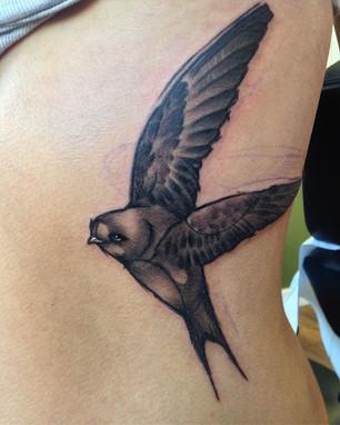sketchy realism tattoo Hannya Jayne