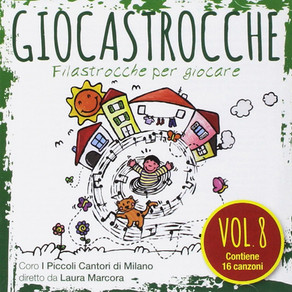 """Coro Piccoli Cantori di Milano """"Giocastrocche vol. 8"""""""