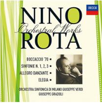 Nino Rota Orchestral Works vol. 6 - LaVerdi - Grazioli
