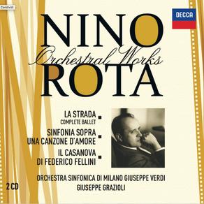 """Nino Rota Orchestral Works vol. 5 """"La Strada"""" - LaVerdi - Grazioli"""
