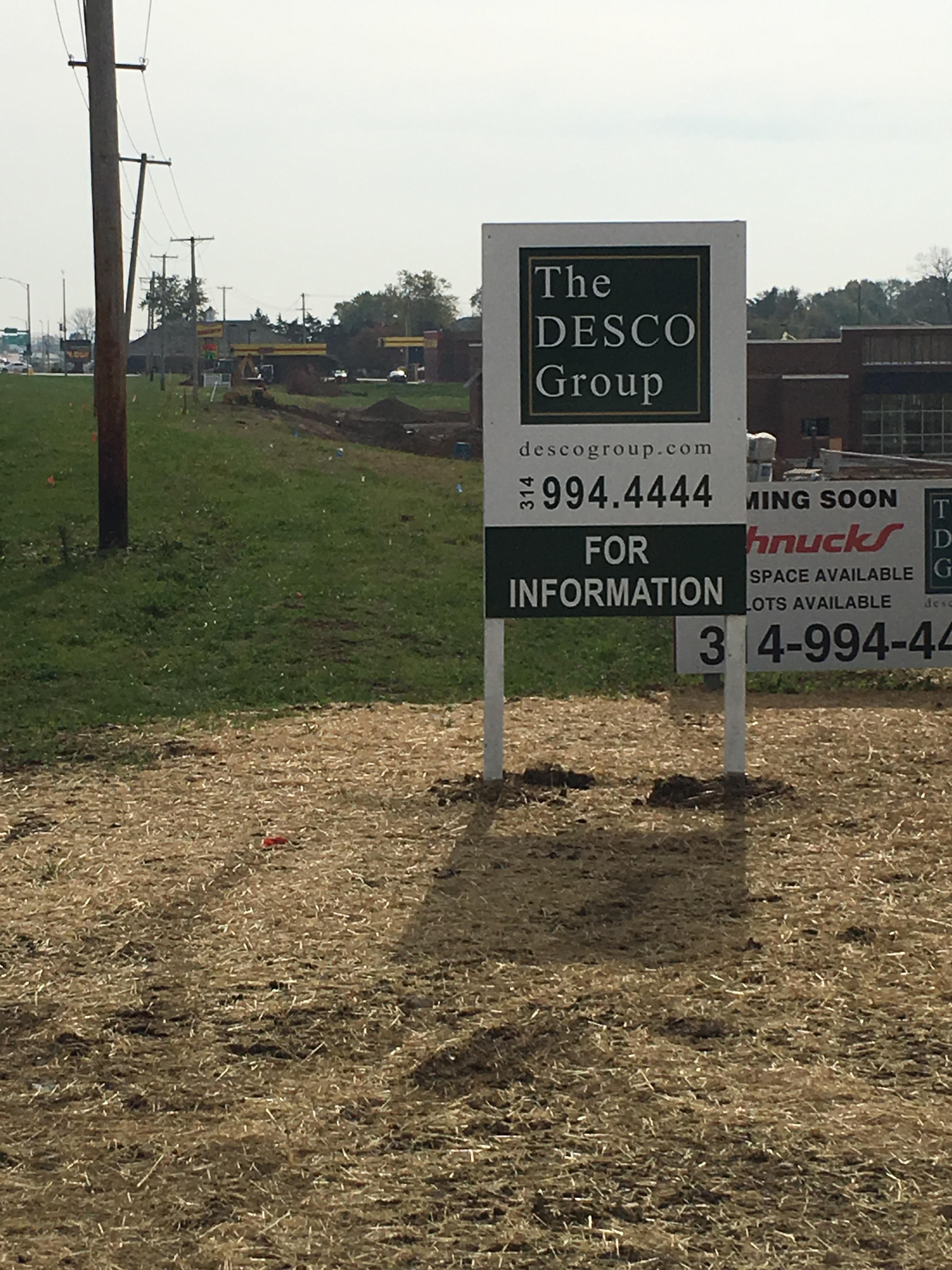Desco Site Sign