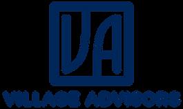 Village advisors logo blue on white.png
