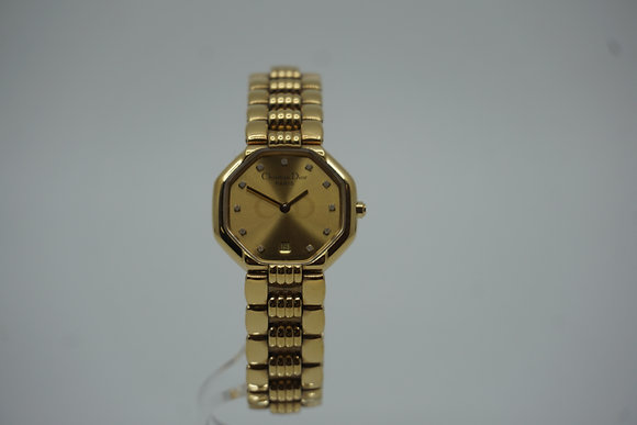 Christian Dior クリスチャンディオール 腕時計 11PD QZ レディース