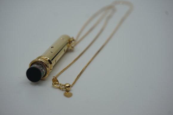 ノンブランドジュエリー 金工芸品 万華鏡 ダイヤ K18 25.6g ネックレス