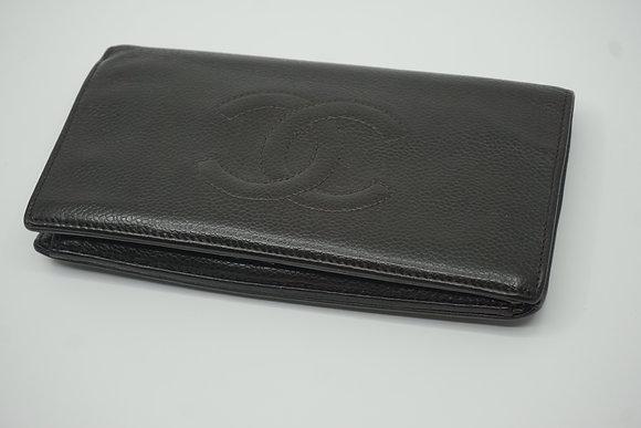 シャネル 長財布 二つ折り ココマーク