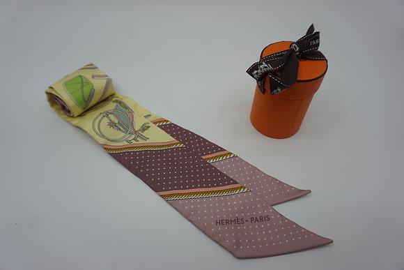 HERMES エルメス ツイリー スカーフ シルク