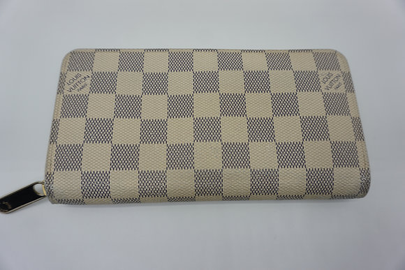 LOUIS VUITTON ルイヴィトン ダミエ アズール ジッピーウォレット N60019