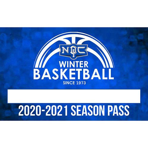 2020-2021 Winter Basketball League Season Pass
