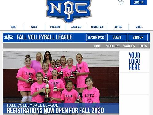 Volleyball Web Sponsorship