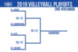 2019 2nd-4th Grade NOC Volleyball Playof