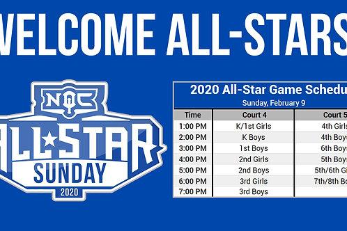 Basketball All-Star Game Day Sponsorship