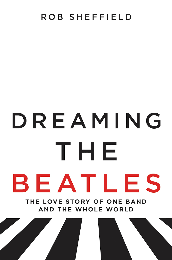 Jacket cover to book Dreaming the Beatles