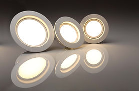 Replace recessed can lights with LED light fixtures in your home or business with a 5-year warranty by Corey Sly Electrical