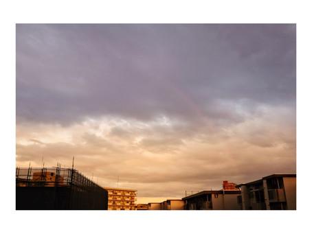 虹の見つけ方。