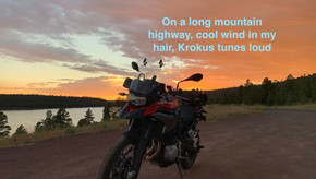 When motorcycling or any adventurous hobby beckons you to overcome fear and limiting beliefs