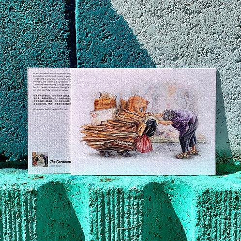 POSTCARD | The Cardboard Granny