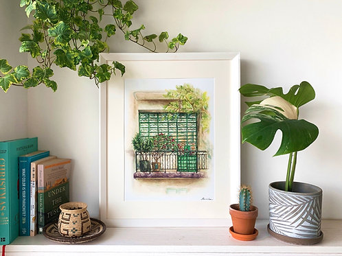 ART PRINT | Story in the View