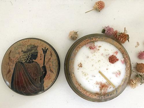 Bougie florale | mythologia